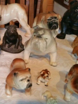 Brian's Bulldog Figurines
