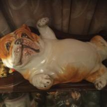 Italian bulldog figurine