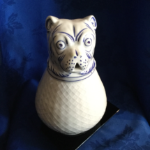 Italian made bulldog pitcher