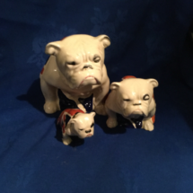 Doulton's Iconic Union Jack Seated Bulldogs