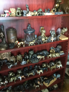 Some of the many pieces
