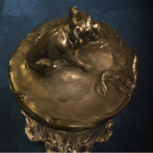 Silver plated humidor
