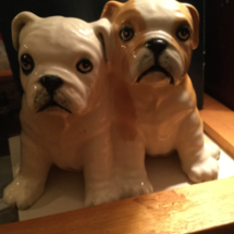 Royal Doulton puppies awwww