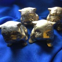 Little brass bulldogs