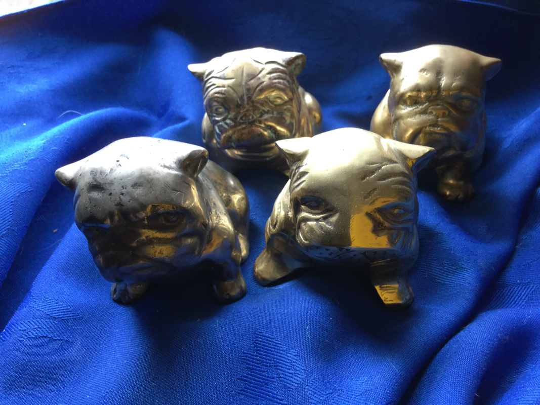 Little brass bulldogs