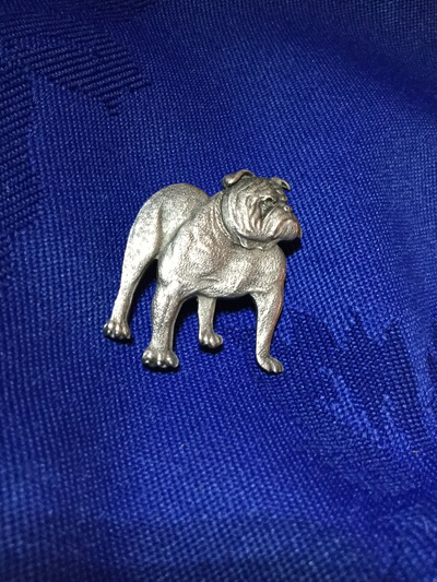 Silver Pin Bulldog
