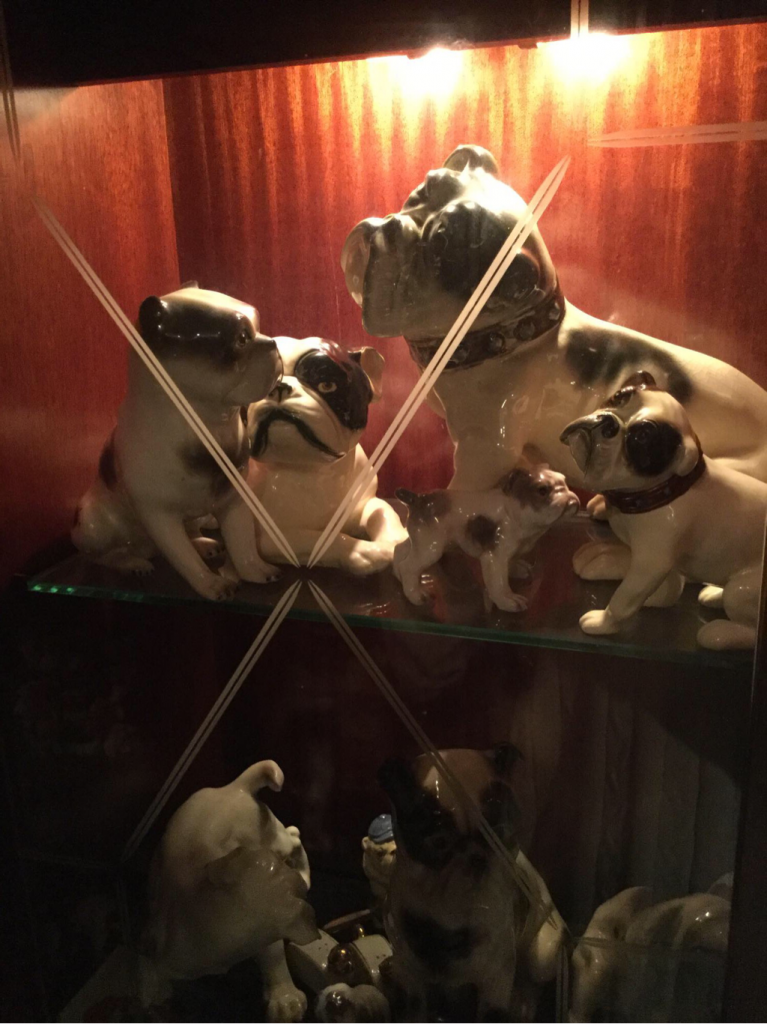 Rare bulldog collectibles