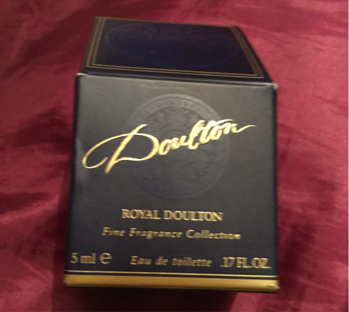 Royal Doulton ladies perfume
