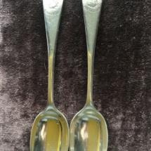 Rare silver spoons
