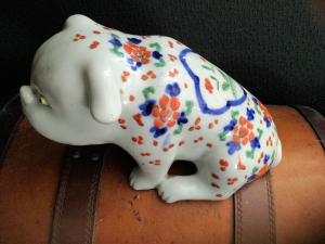 Antique Japanese bulldog