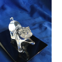 Custom made Crystal Bulldog