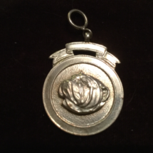 Antique silver medal