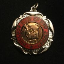 American bulldog club medal