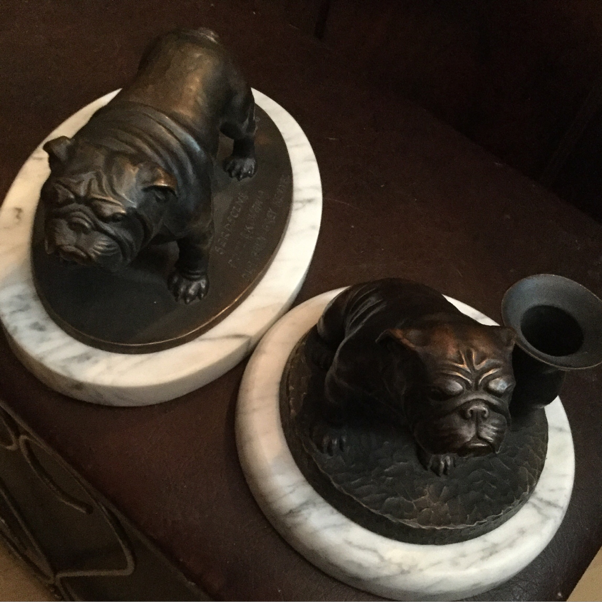 Beautiful bronze limited edition pieces