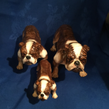 Brindle Pied Set by Doulton