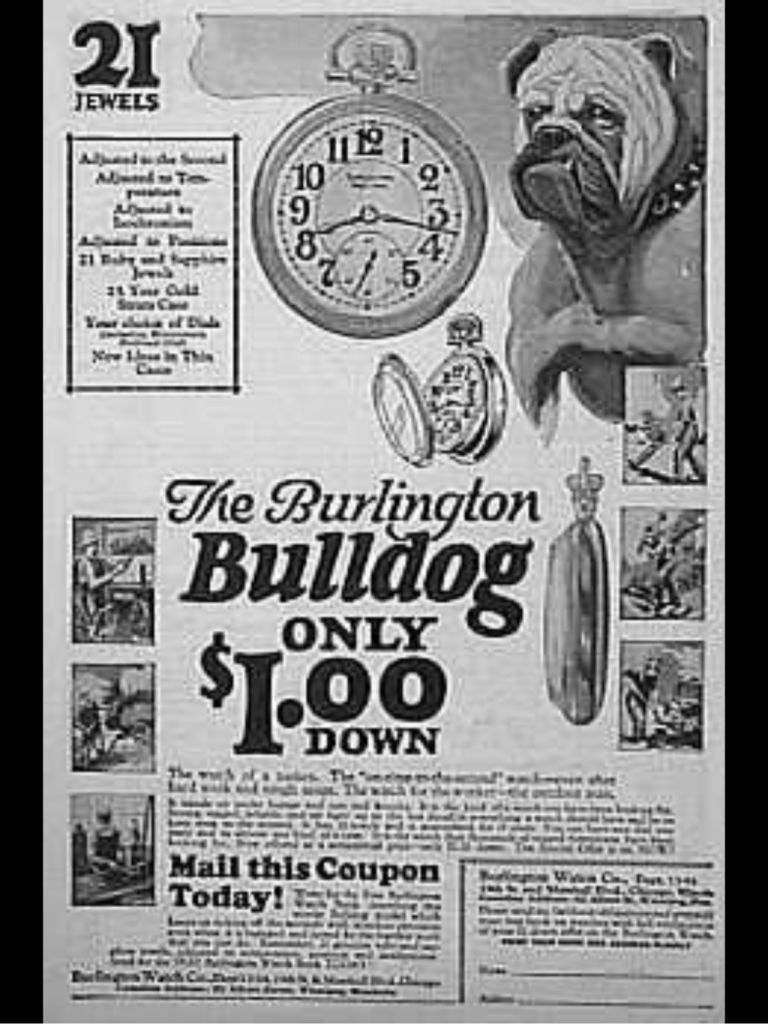 Bulldog advertise