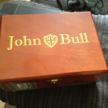 John Bull Cigar Box