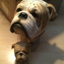 Sherratt and Simpson head busts