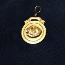 Hallmarked silver medal