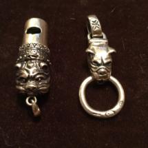 Stunning silver pendants