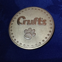 Crufts participation medal