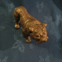 large spelter bulldog