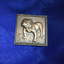 Square bronze small plaque