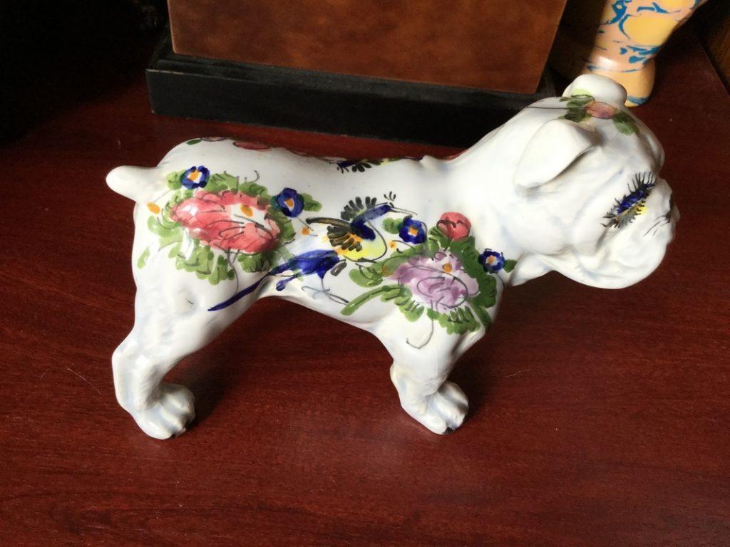 Hand painted bulldog