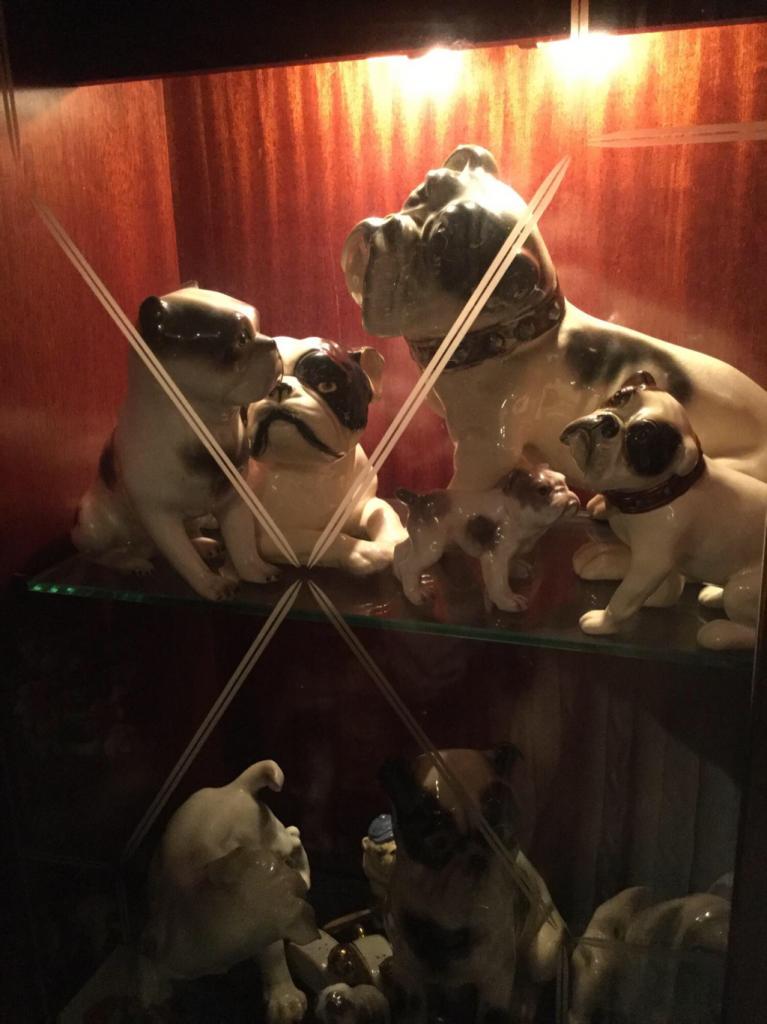 Rare bulldog collectibles