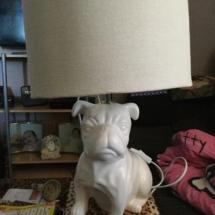 A Bulldog Lamp