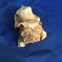 bulldog made from American marble