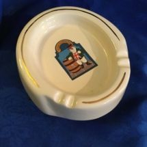 Vintage bulldog ashtray