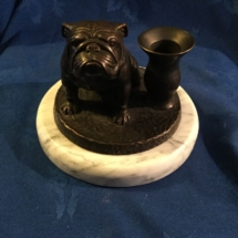 Bulldog Candle Holder