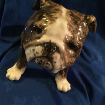Large Ceramic Bulldog