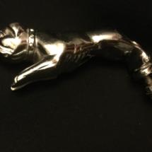 Rare bulldog hood mascot (not mack)