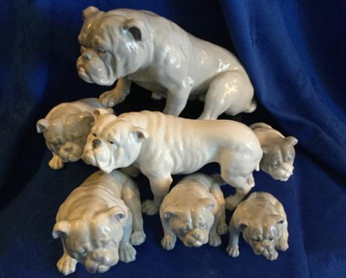 Gerbruder huebach bulldog set