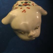 Bulldog antiques Japanese Akari Bulldog