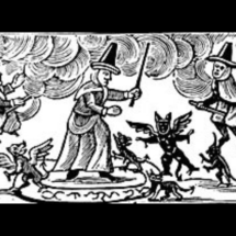 Mediaeval witches and black cats