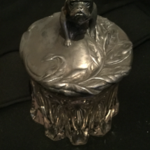 Silver humidor