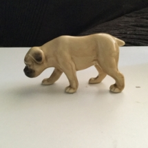 A Small Bulldog Figurine