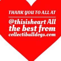 Thank you to @thisisheart