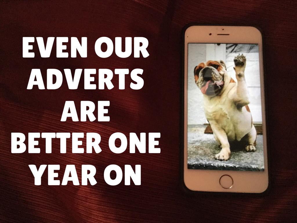 Home made ads needed to catch your gaze