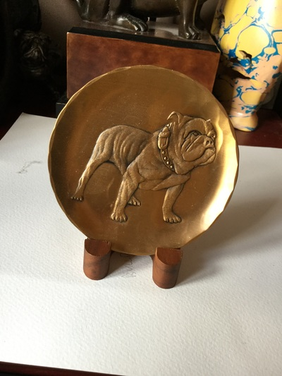 Bronze tempered plate