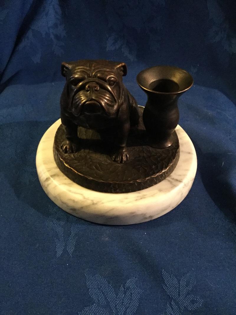 Bulldog Candle Holder