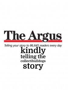 The Brighton Argus / Prelude Monday's article