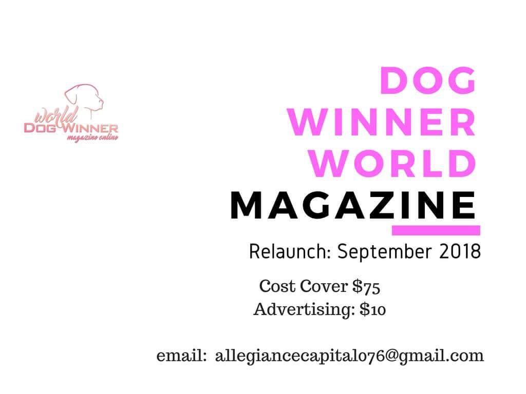 Magazine relaunch