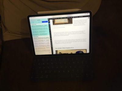 Blogging set up