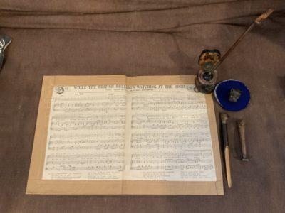 The ultimate 1800s blogging set up